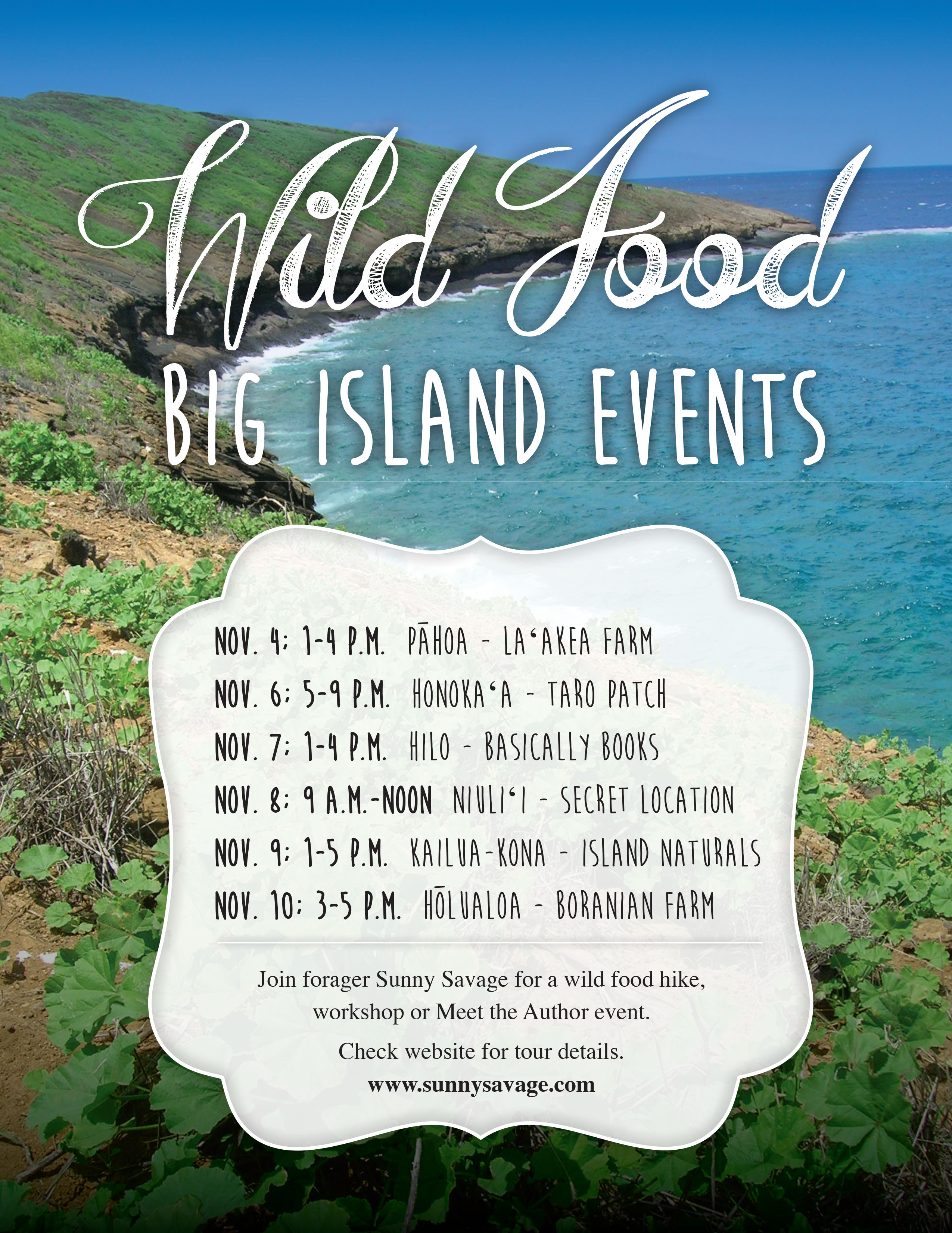 wild food plants of hawaii big island tour
