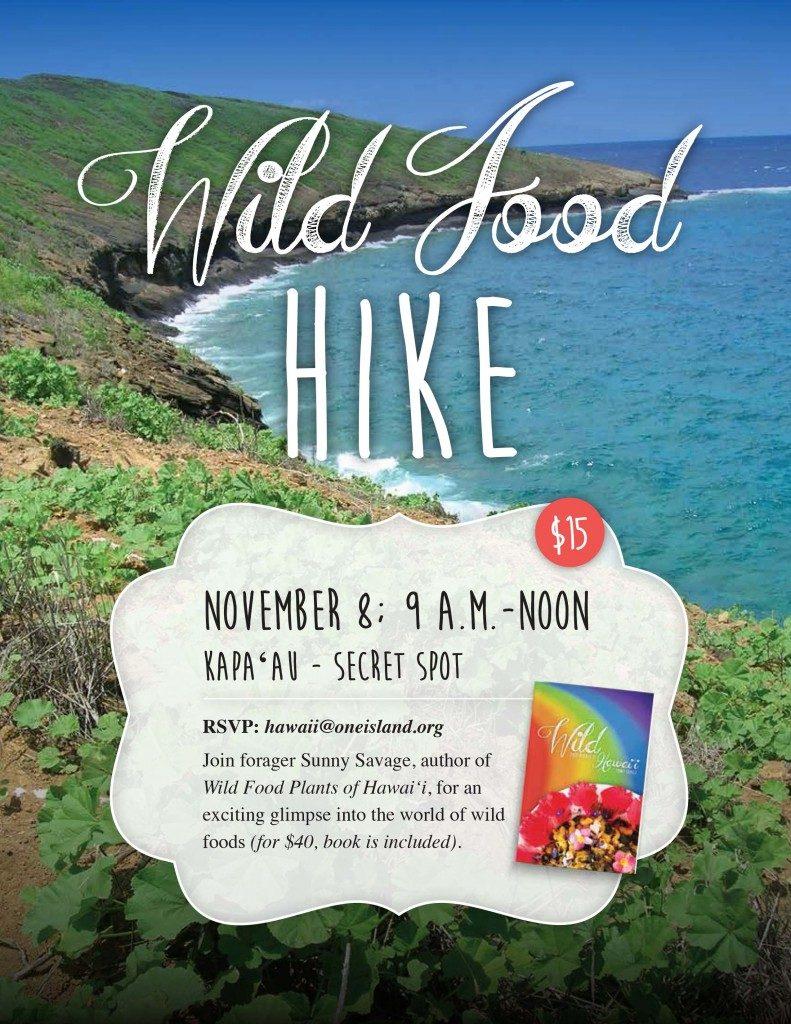 BIG ISLAND :: Kapa'au Wild Food Hike with One Island Sustainability Center