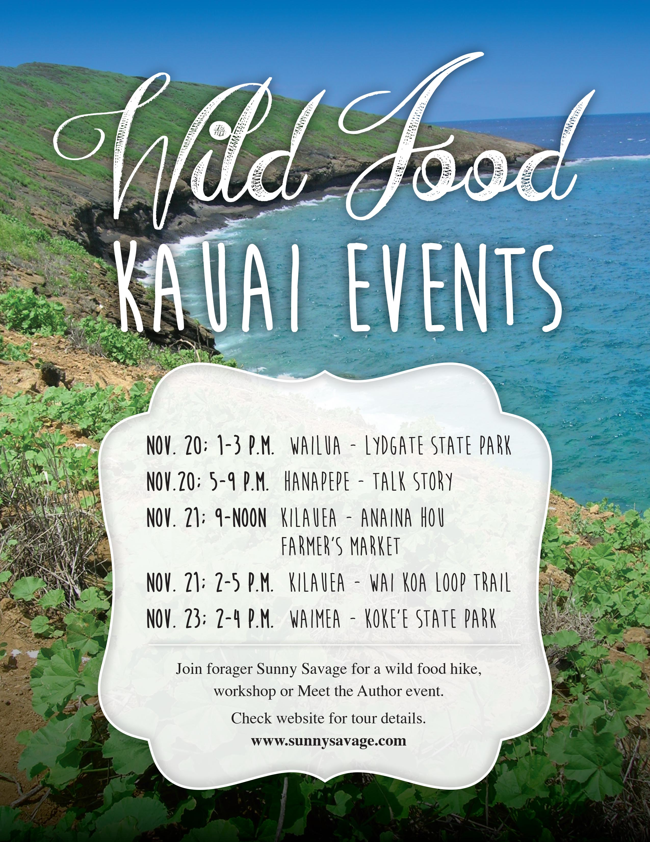 Kauai Wild Food Plants of Hawaii tour
