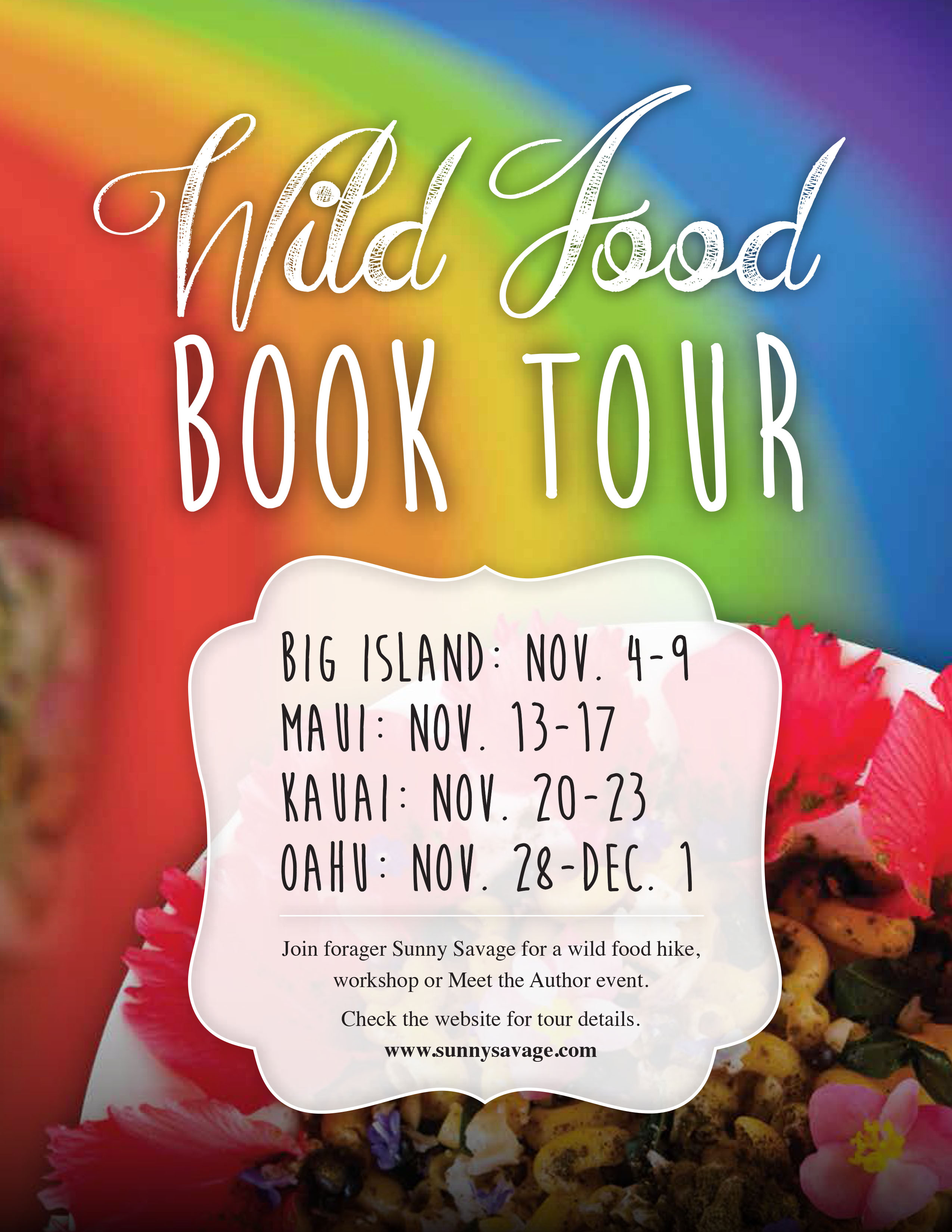 Wild Food Plants of Hawaii Book Tour - General