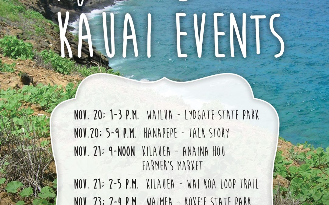 KAUAI :: One Wild Food Every Day Tour Events