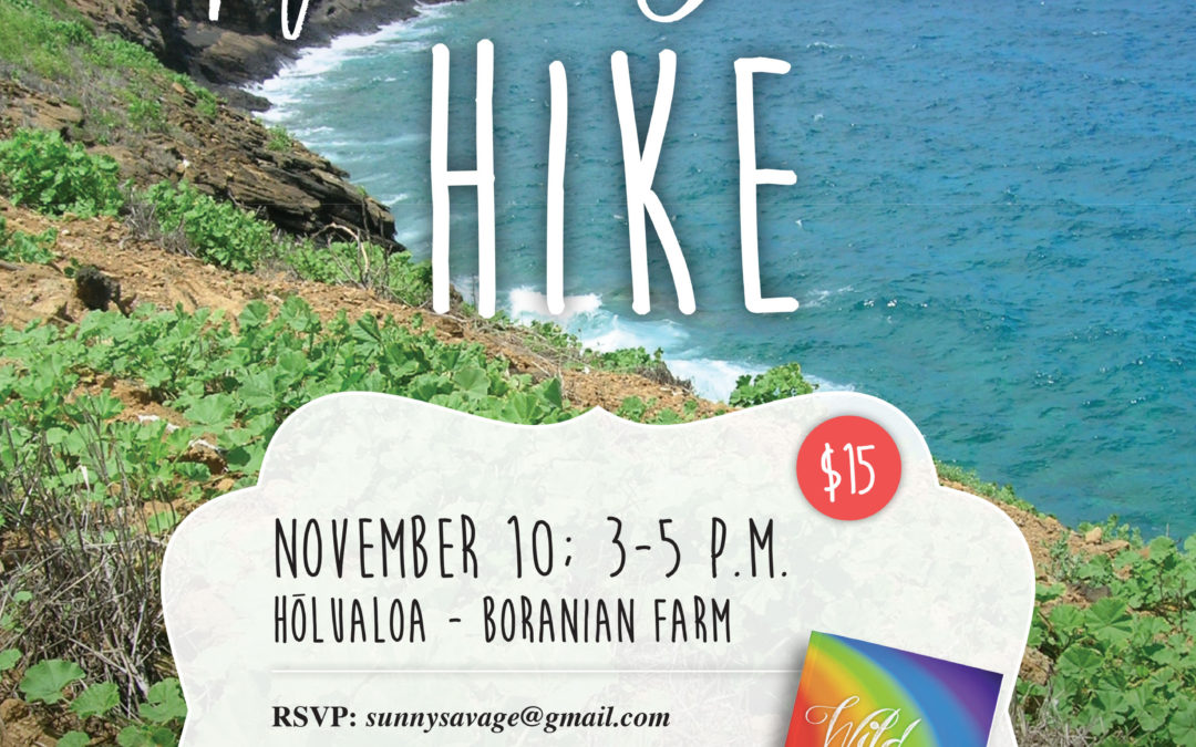 BIG ISLAND :: Boranian Farm Wild Food Hike